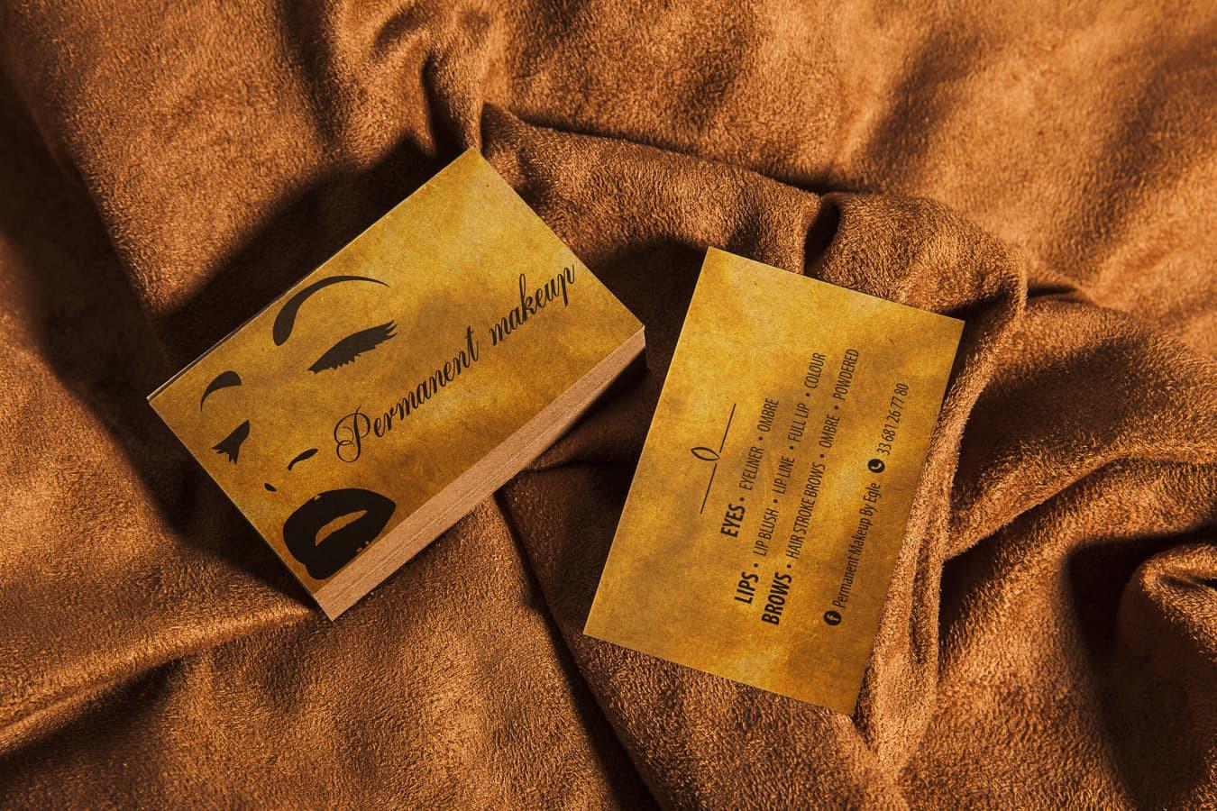 Permanent makeup  - vizitinė kortelė