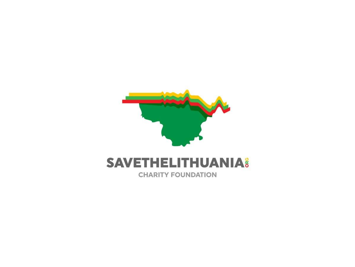 Save The Lithuania - Charity Foundation  |   Logotipų kūrimas - www.glogo.eu - logo creation.