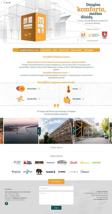 """Projektas """"Mickevičiaus 9"""" — pirmojo Lietuvoje D klasės daugiabučio renovacija į A klasę"""