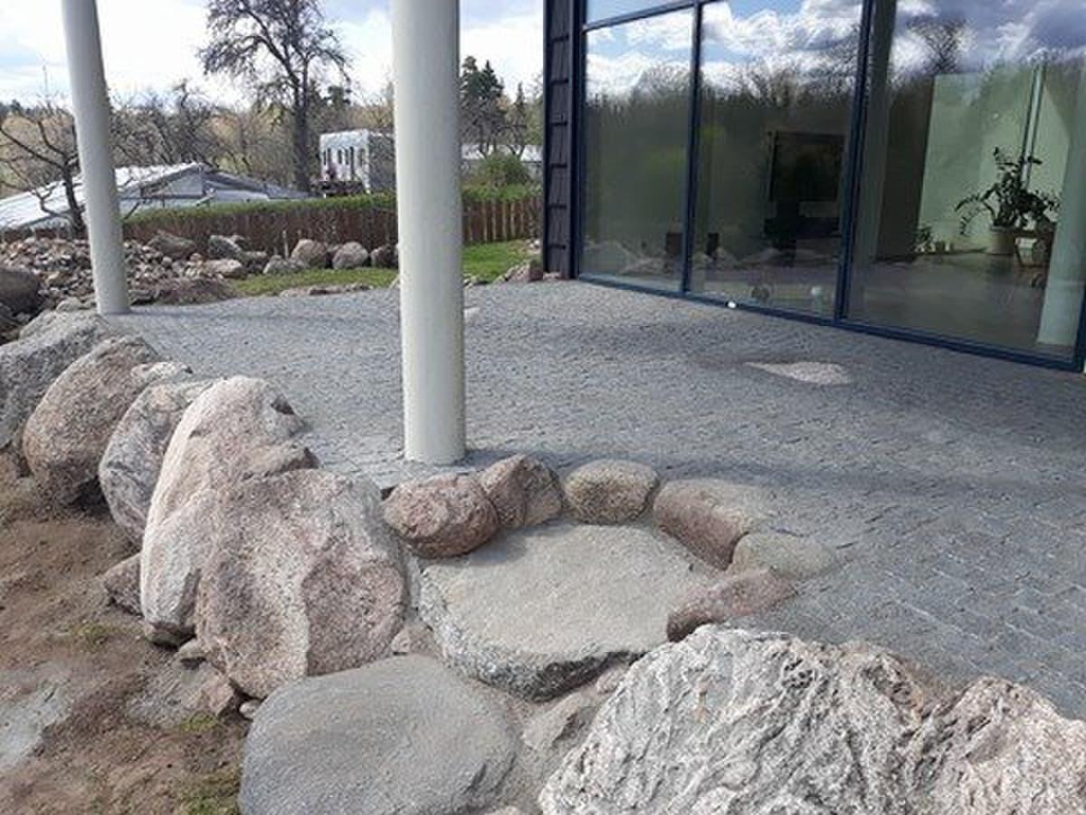 Lauko tarasa iš granito