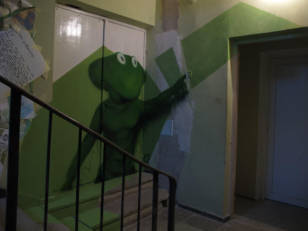 Graffiti veikėjas, Kupiškis