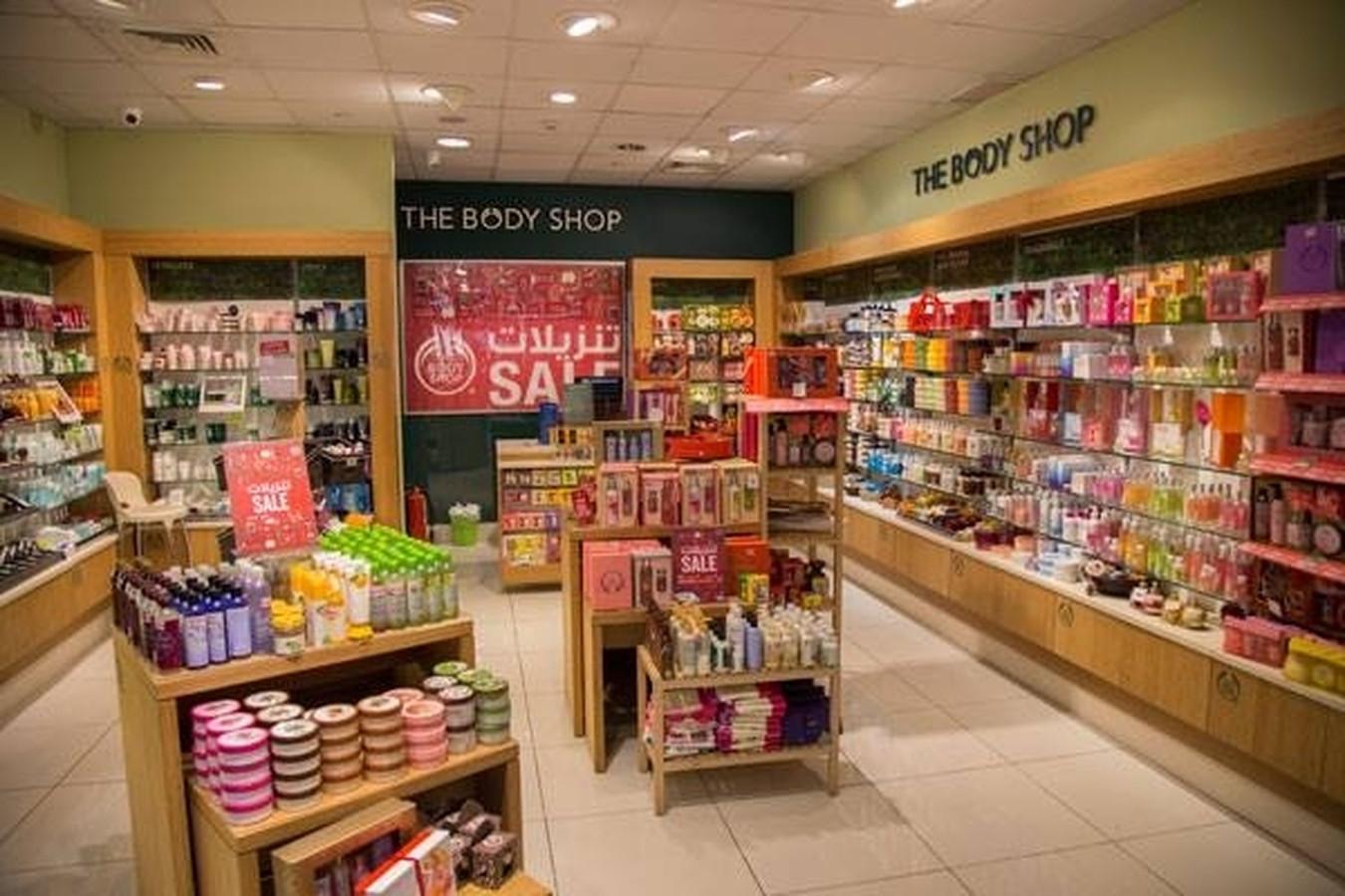 """""""The Body Shop"""" parduotuvių apšvietimo ir elektros projektai."""
