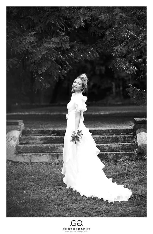 Vestuvių fotosesija Lentvaryje