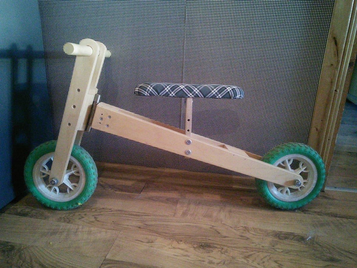 Balansinis dviratukas mano mylimai dukrytei :)