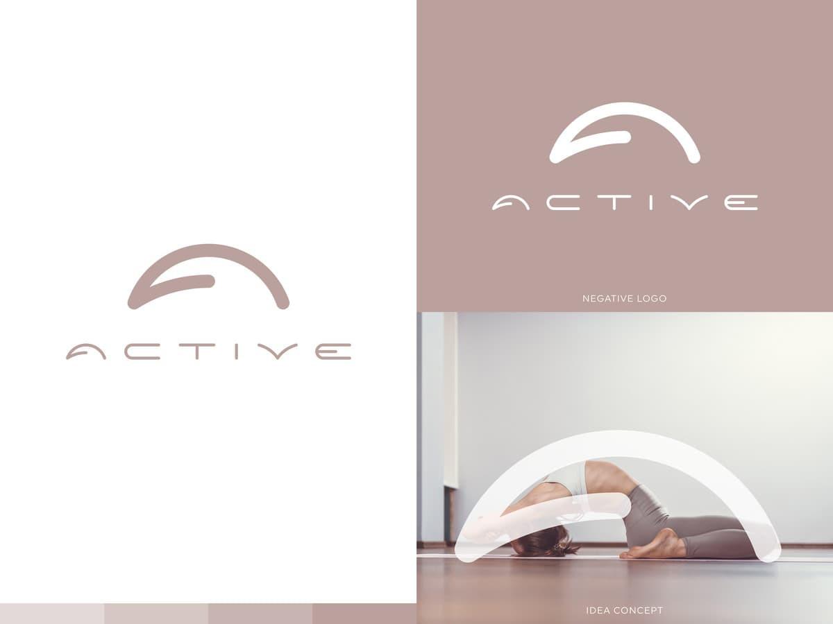 AKTYVI - Kalanetikos/ Jogos/ Baleto/ Kūno dizaino programos internetu. | Logotipų kūrimas - www.glogo.eu - logo creation.