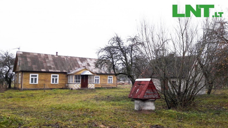 Parduodamas namas Ąžuolų g., Gyvakarų k., Kupiškio raj. Sklypas 3,95 ha., iš jų 3,61 ha. žemės ūkio naudmenų, našumo balas - 50,2.
