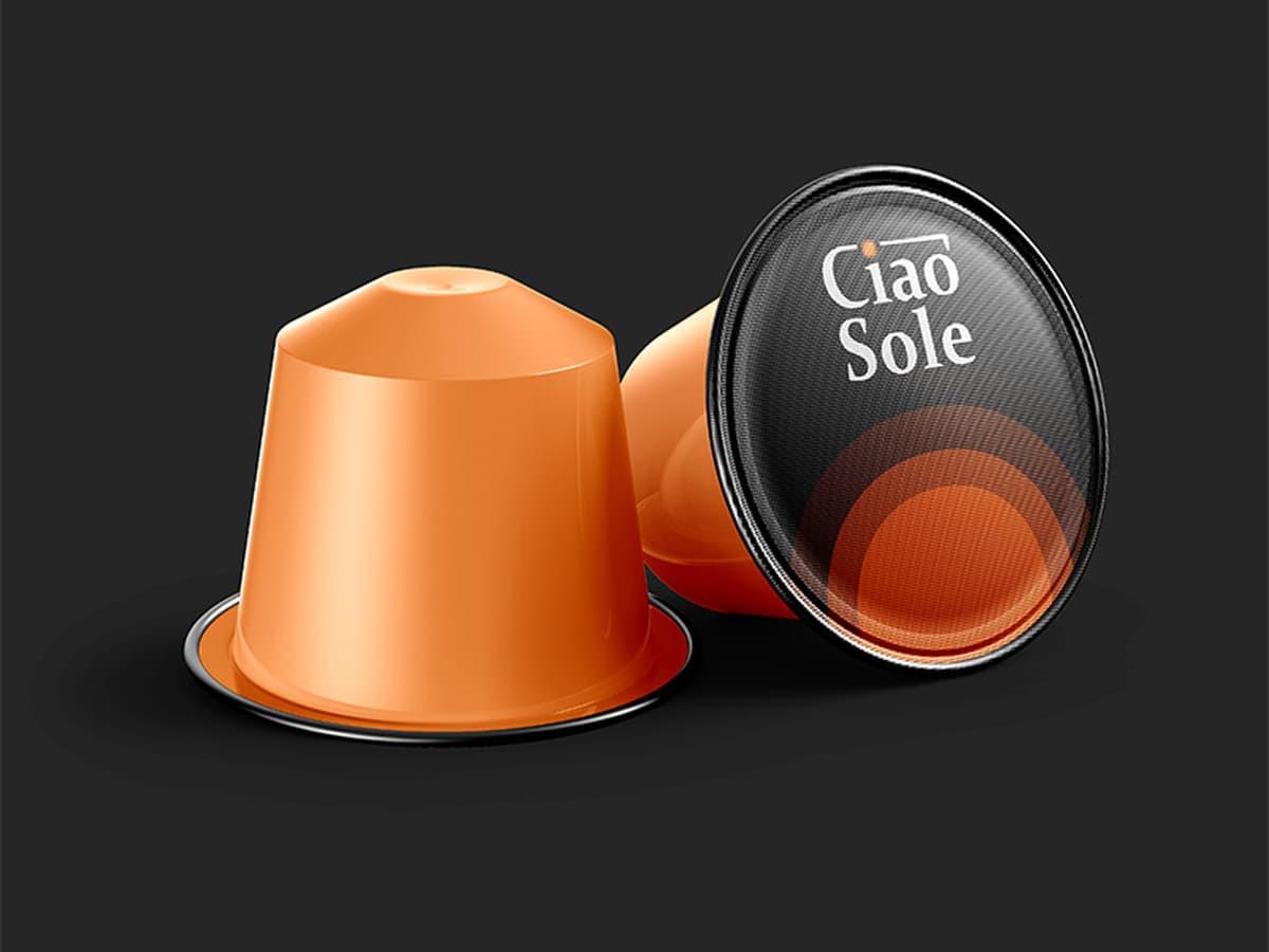 CiaoSole - aukščiausios rūšies kava iš Italijos   |   Logotipų kūrimas - www.glogo.eu - logo creation.