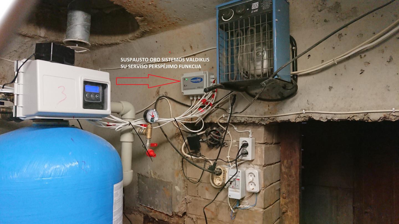 Suspausto oro valdiklis išspręndžia daugelio nugeležinimo filtrų filtravimo procesų kokybę ir galutiniame rezultate kokybiškas vanduo vartotojui ir stabilus filtrų darbas. Kas gali būti geriau?