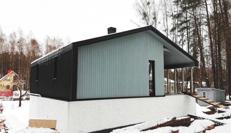 Pilnai mūsų projektuotas ir realizuotas namukas