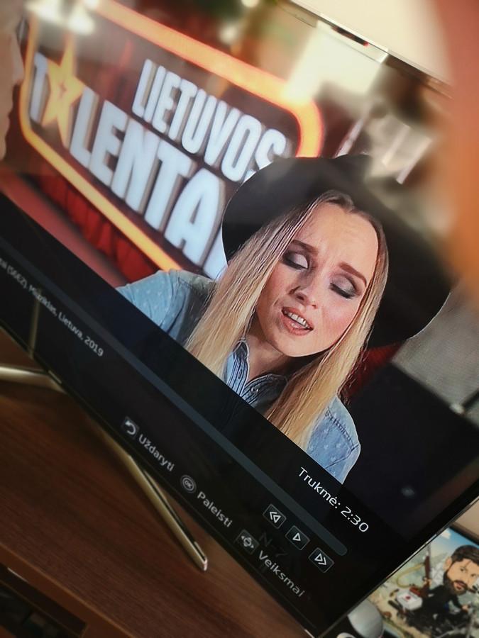TV grimas
