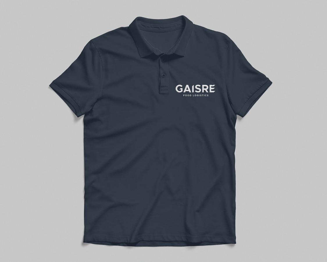 """Logistikos įmonės """"Gaisrė"""" darbuotojų marškinėlių dizainas"""