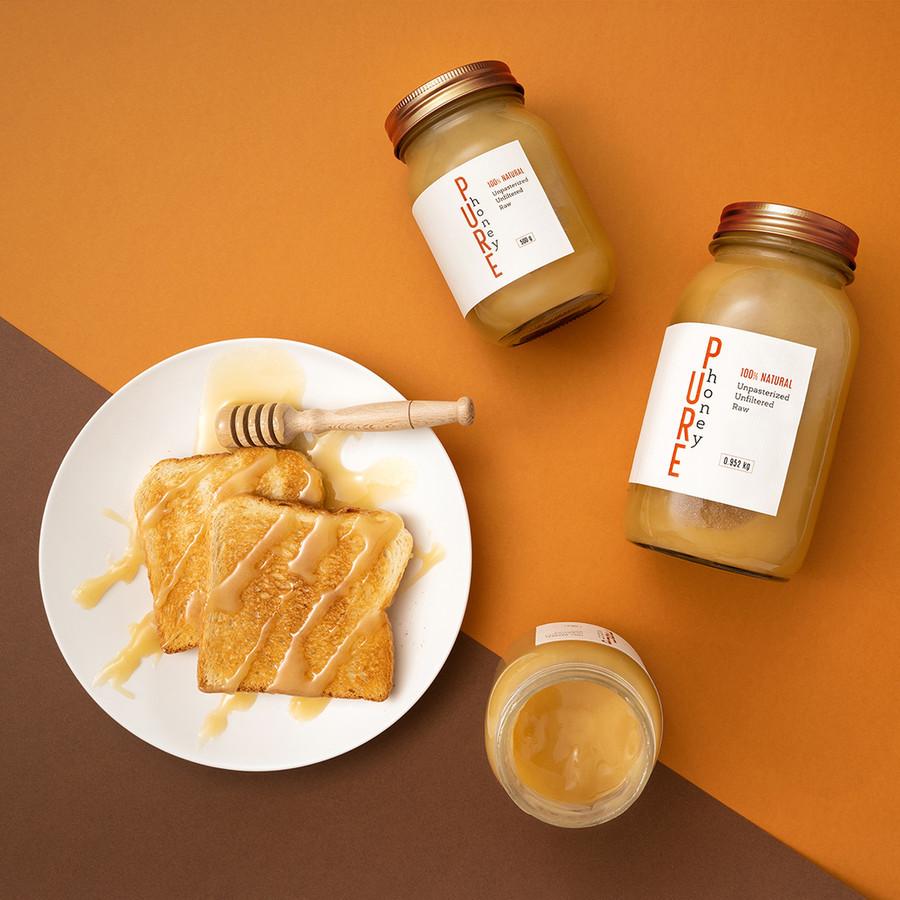 Pure Honey etiketės