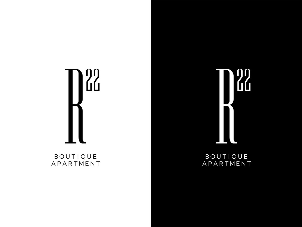 R22 - Ramybės 22 boutique apartments |   Logotipų kūrimas - www.glogo.eu - logo creation.