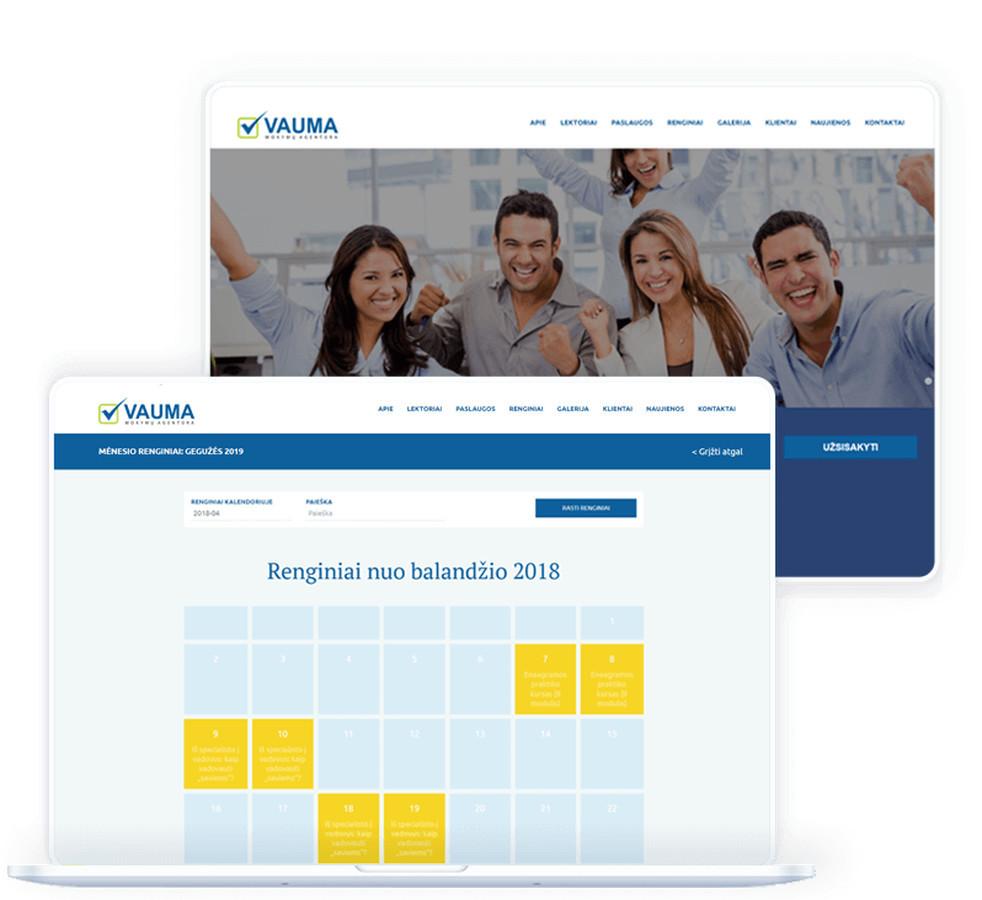 """""""VAUMA"""" – asmeninių mokymų, organizacinių konsultacijų, įmonių strateginių sesijų bei saviugdos renginių ekspertė Lietuvoje."""
