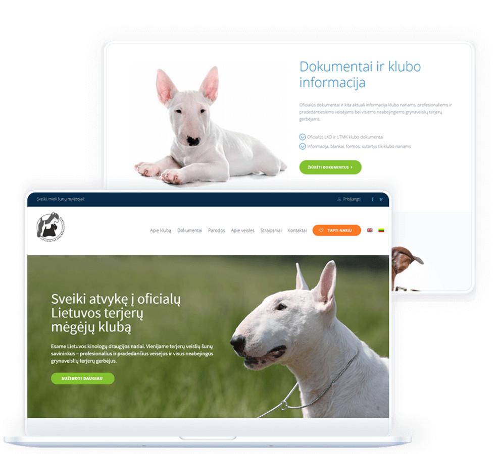 Internetinė svetainė Lietuvos terjerų mėgėjų klubui. Pagrindinis internetinės svetainės tikslas skatinti terjerų šunų mėgėjus ir jų savininkus tapti registruotais klubo nariais.