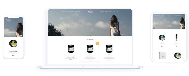 Vilana Natural Beauty tai natūralių kosmetikos priemonių el.parduotuvė vykdanti internetinę prekybą tarptautiniu mastu.