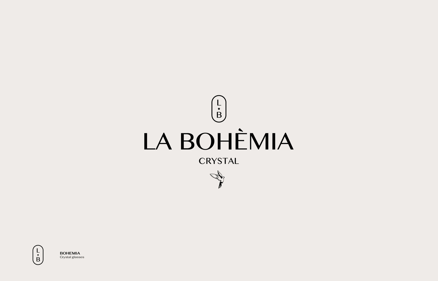 LA BOHEMIA - Crystal glasses