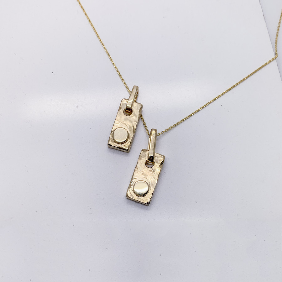 Auksinių medalionų gamyba