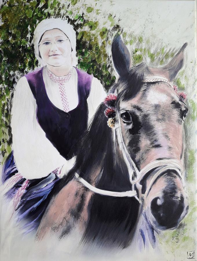 Portretai, piešimas, tapyba ant drobės iš nuotraukų