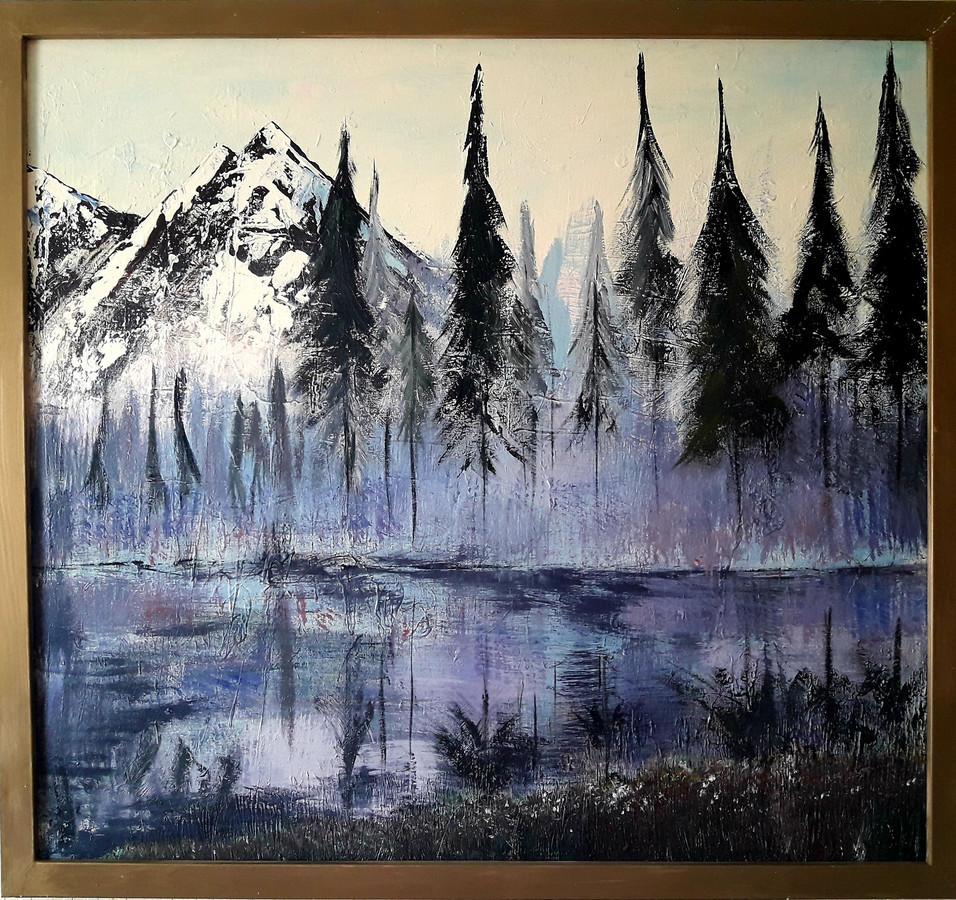 Realizmas, gamta, peizažas, kalnai