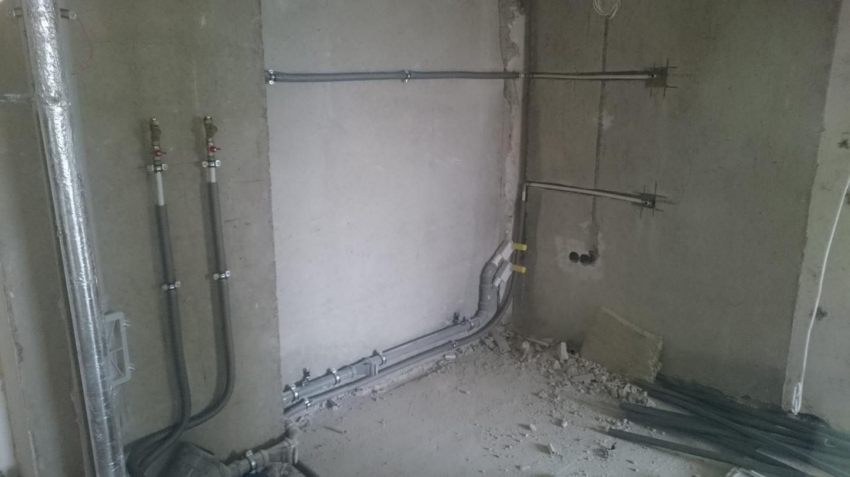 Buto vonios įrengimas prieš 2