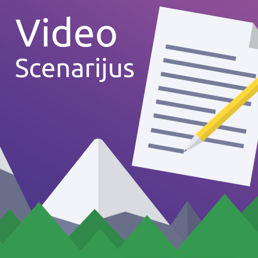 50eu už video scenarijų