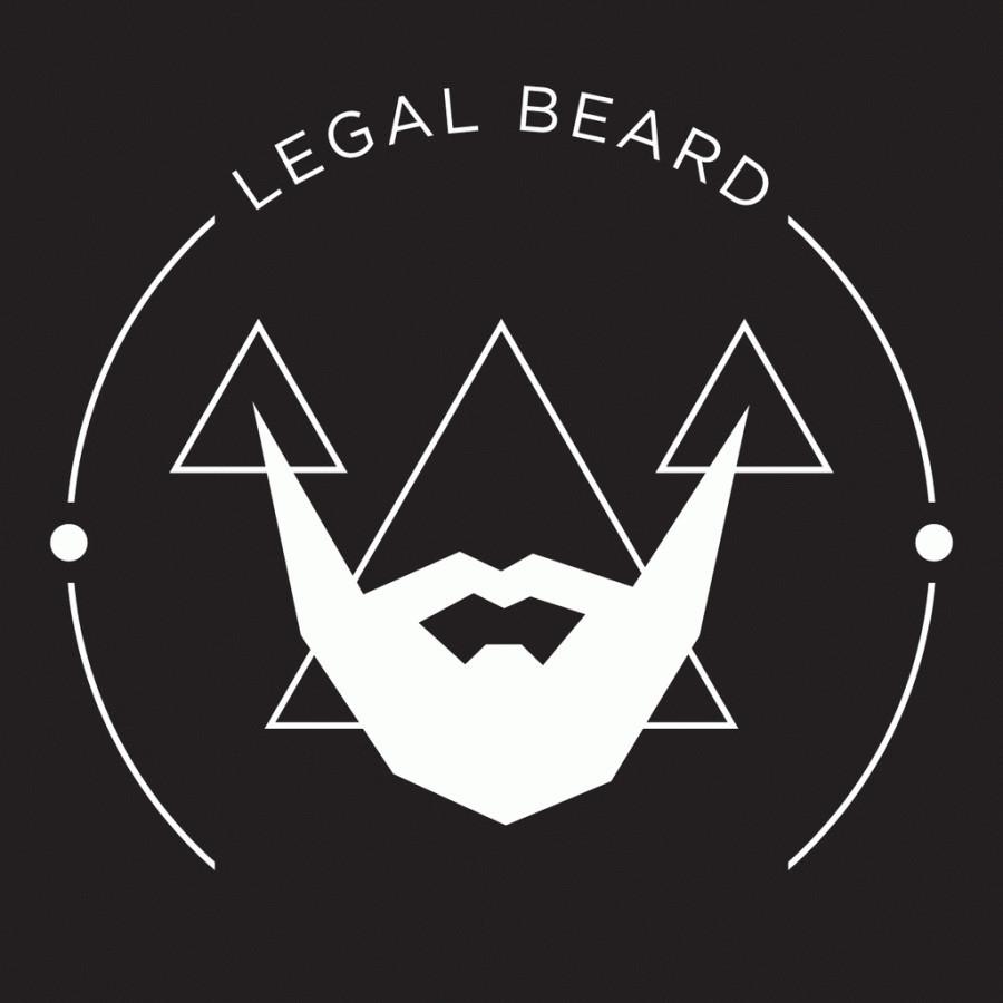 LEGAL BEARD logotipas.