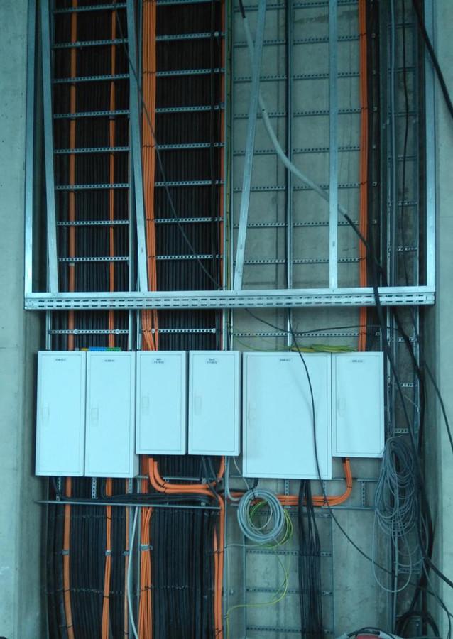 Elektros skydelių montavimas