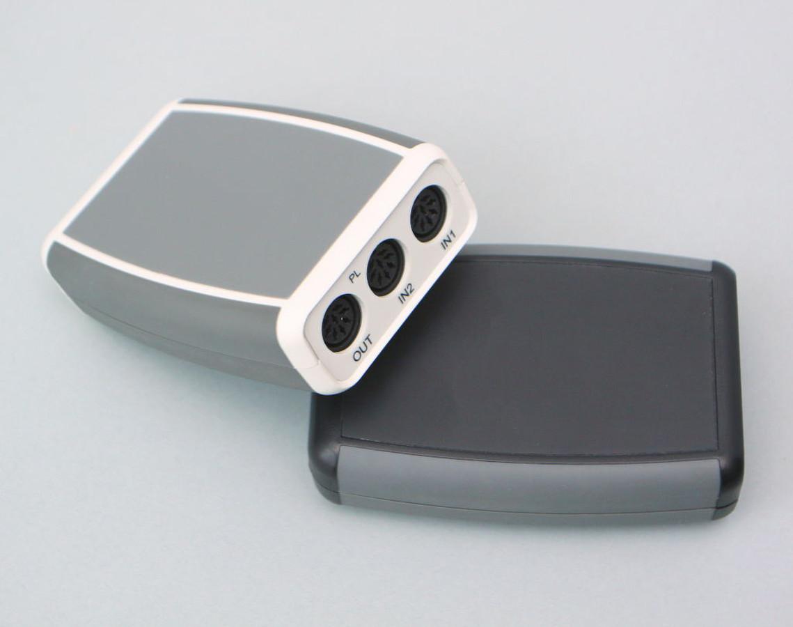 Bang and Olufsen Wireless link stereo siūstuvas skirtas prijungti aktyvioms B&O garso kolonėlėms prie bet kokios audio sitemos. Užsakovas BOSSCOM. Danija.