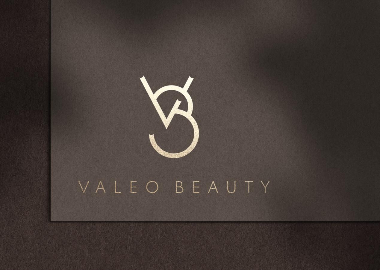 Valeo beauty logotipas