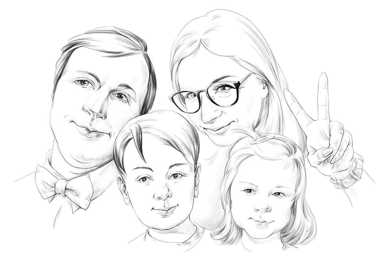 Grupinis portretas - dovana jubiliejaus proga.