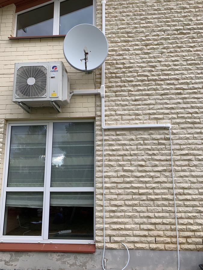 Multi split oro kondicionavimo sistemos montavimas