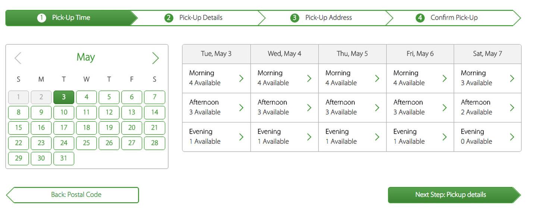 Universali paslaugų rezervavimo forma. Galima leisti lankytojams rezervuotis konsultacijoms, apsilankymams konkrečioms dienoms ar net valandoms. https://capitaljunk.ca/book-appointment/