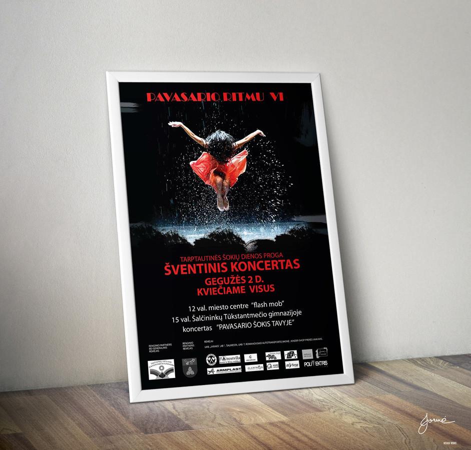 Renginio plakatas