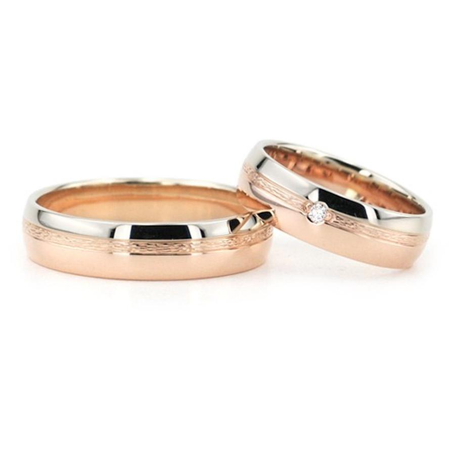 Dvispalviai vestuviniai žiedai