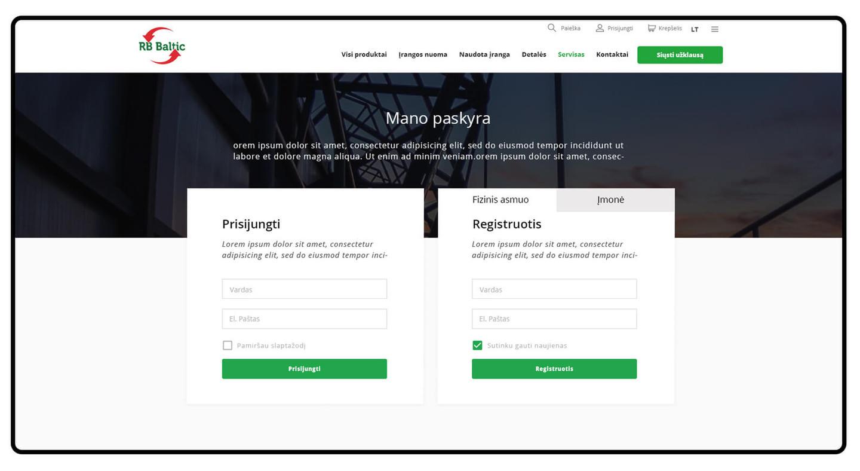 """Įmonė """"RB Baltic"""" teikia pažangius atliekų tvarkymo bei antrinių žaliavų rūšiavimo ir perdirbimo sprendimus."""
