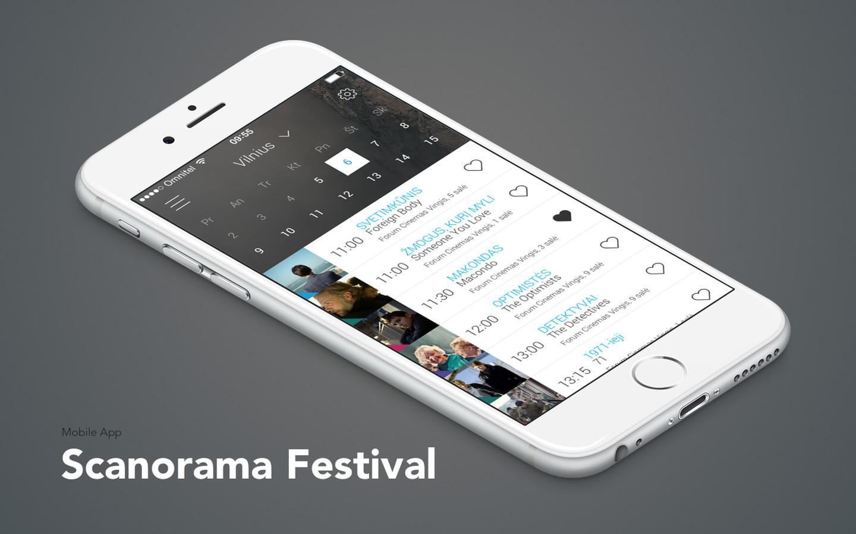 """Scanorama festivalio aplikacija : Europos šalių kino forumas """"Scanorama"""" yra didžiausias ir svarbiausias rudens sezono kino renginys Lietuvoje. https://play.google.com/store/apps/details?id=lt.imas.scanorama https://itunes.apple.com/us/app/scanorama-2015/id1050989850?mt=8"""