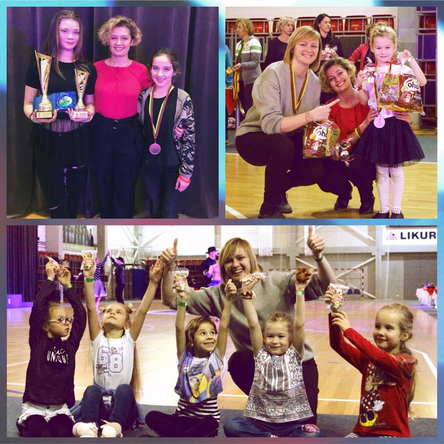 Konkursai, varžybos įvairaus amžiaus vaikams Lietuvoje ir užsienyje.