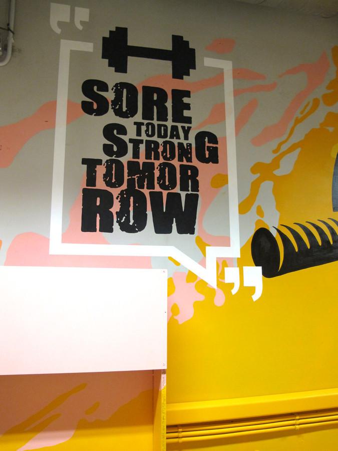 Sporto kambarys