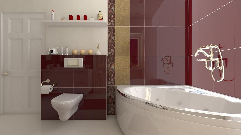 Prabangus vonios kambarys