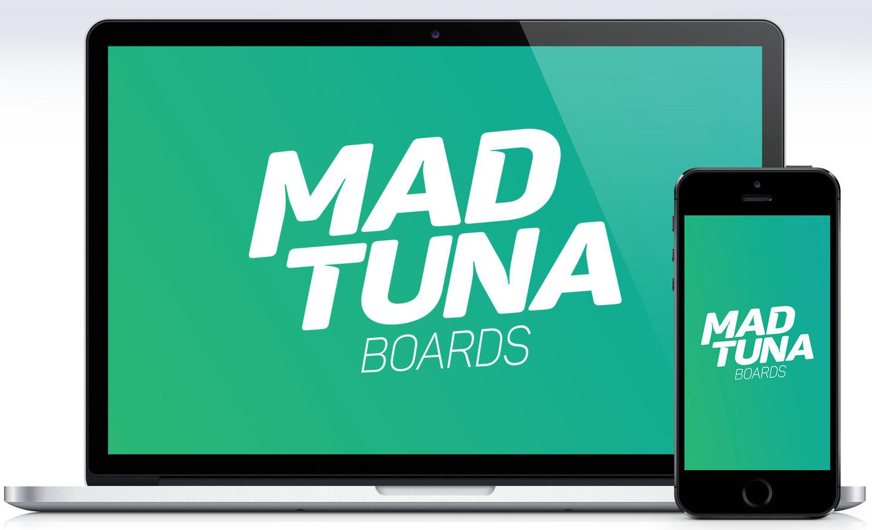 www.madtunaboards.com   Sukurta tinklapis, logotipas, produktai, produktų grafinis dizainas, kita vaizdinė bei spausdintinė medžiaga, brandas. Fotografuojama bei atliekamas foto retušavimas. Ties projektu dirbama 2014 - 2016 m.   www.madtunaboards.com