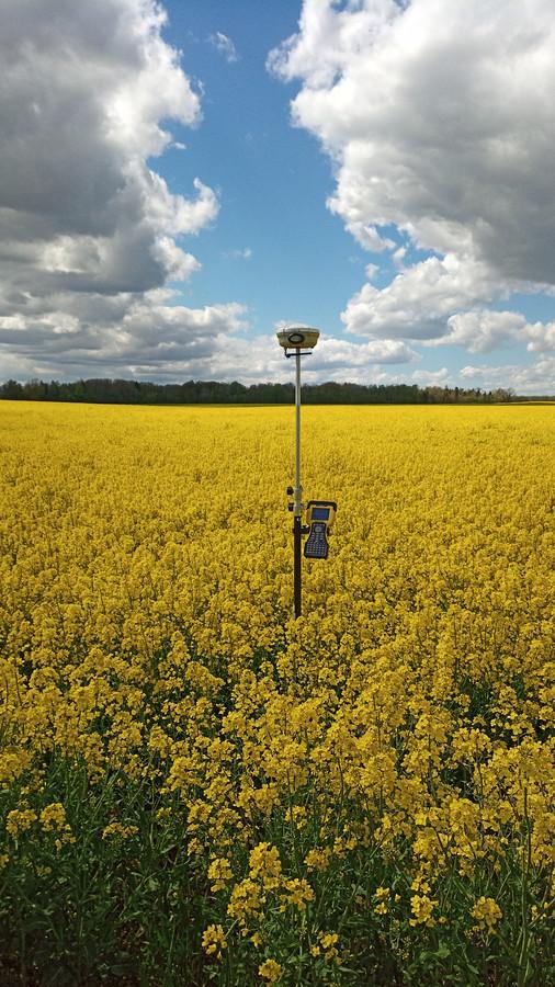 Žemės ūkio paskirties kadastriniai matavimai
