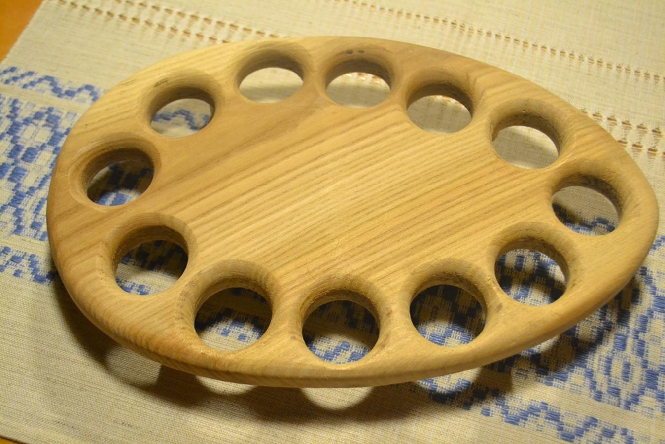 velykinių kiaušinių padėkliukas  12 kiaušinių 12 mėnesių
