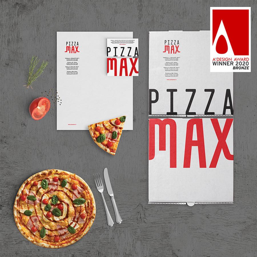 Pizzamax logotipo atnaujinimas