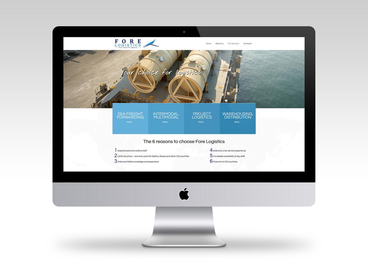 Fore Logistics, UAB (Forelogistics.com) - Logistikos kompanija. Daugiau mūsų darbų www.brandmedia.lt