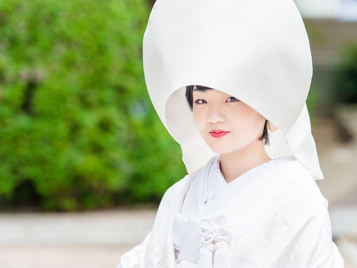 Vestuvės užsienyje. Tradicinės japoniškos vestuvės Japonijoje, Kyoto mieste.