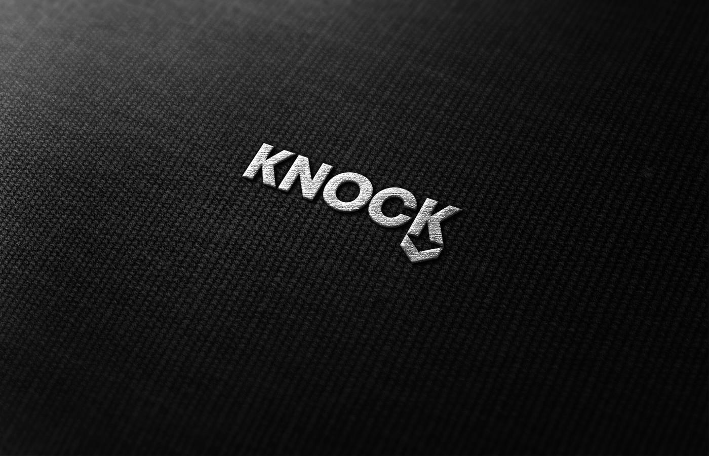 Knock Down - sportinė apranga   |   Logotipų kūrimas - www.glogo.eu - logo creation.