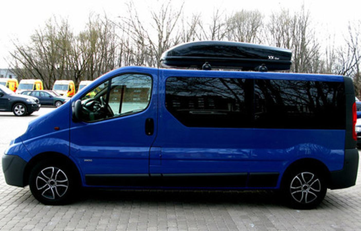 Renault Trafic / Opel Vivaro 9 vietų autobusiukų nuoma.