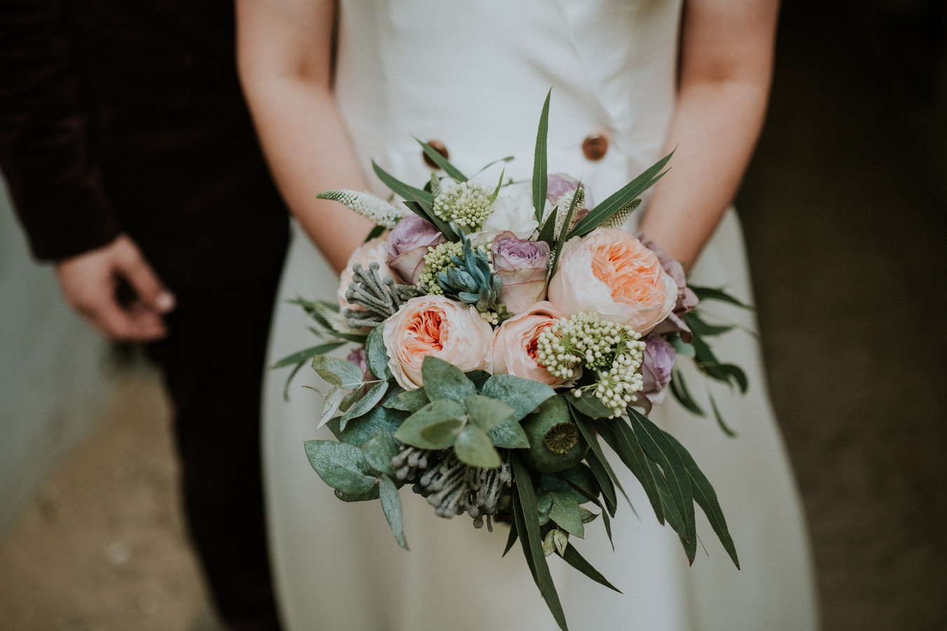 Vestuvinė puokštė Floritiska: dkdizainas.lt Foto: Couple Cups