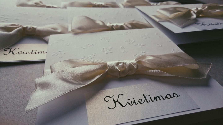 Kvietimas į vestuves